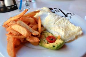 Eggwhite omelette